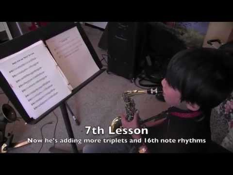 Incredibly Fast Jazz Improv Method!!- Demo of 5th lesson to 16th lesson