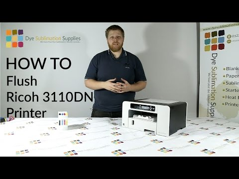 How To: convert a Ricoh Printer for sublimation printing - Dye Sublimation Supplies