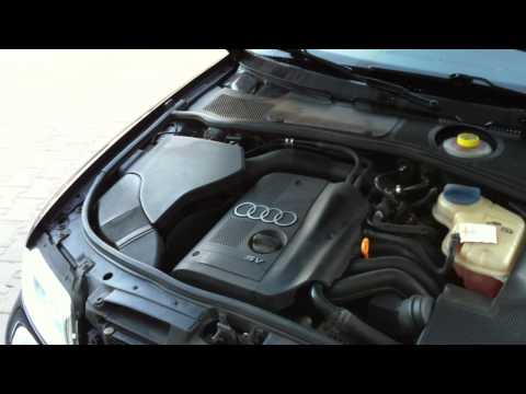 AUDI A4B5 engine cover