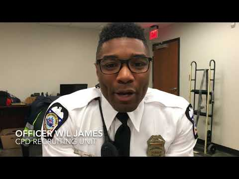 Columbus Division of Police Recruiting Unit: Officer Wil James
