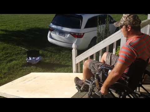 How NOT to build a wheel chair ramp!!!