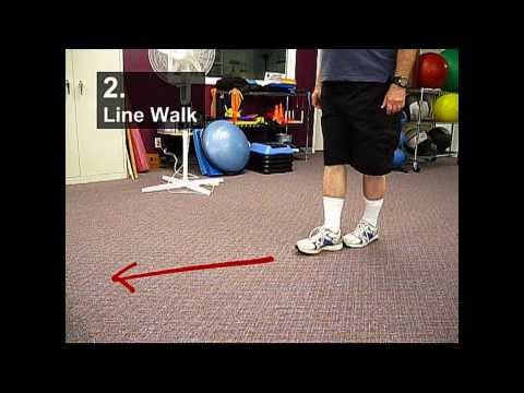 Fall Prevention Exercises (Balance Series) - Line Walking
