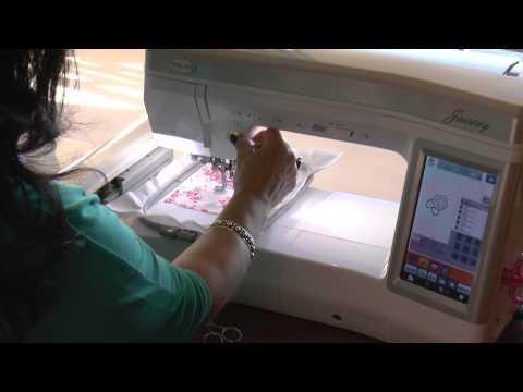 The Applique Tutorial: Applique On Your Embroidery Machine: Applique Corner