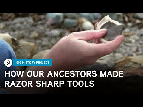 Making Stone Tools | Big History Project