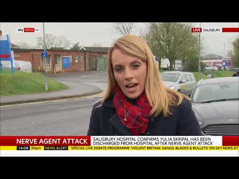 Nerve attack victim Yulia Skripal discharged from hospital - Rebecca Williams