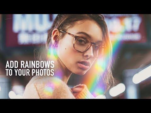 Create Rainbow Lights On Your Photos
