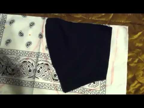 diy t-shirt sleeves custom bandana sleeves easy