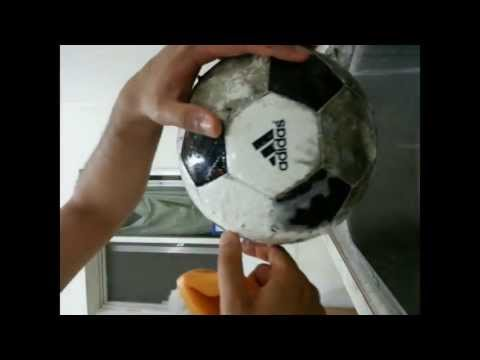 How to clean a FILTHY Football / Soccer Ball