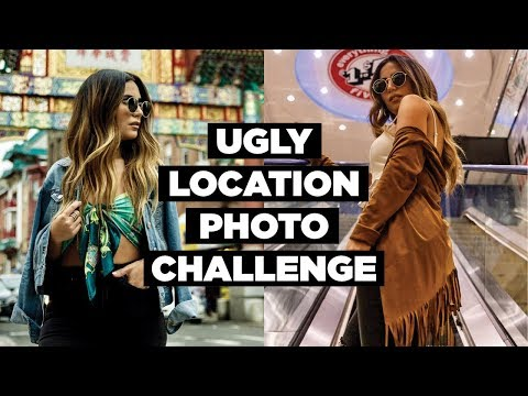 UGLY LOCATION PHOTOSHOOT CHALLENGE | In Philly!