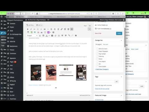 How to Add a Link in WordPress & Create a Product Gallery