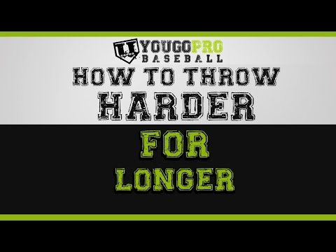 How to throw harder for longer