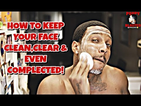 HOW I KEEP MY FACE CLEAN, CLEAR & EVEN COMPLECTED TO AVOID BLACK LINES!!!