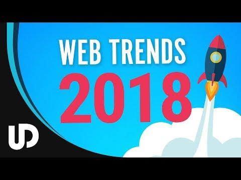 Web Design Trends 2018! [TUTORIAL]