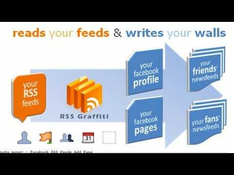 Facebook RSS Feeds Add Fans