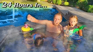 Last One To Leave Wins $10,000!!! Hot Tub Challenge!