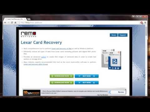 How to Recover Deleted Photos from Lexar Platinum ll SD Card