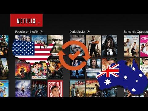 Get US Netflix in Australia easy