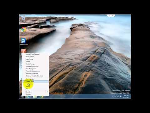 Start Button - Windows 8.1 Tutorial