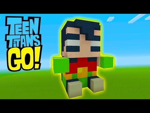 Minecraft Tutorial: How To Make A Robin Plushy
