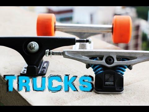 Tutorial - tudo sobre trucks de longboard