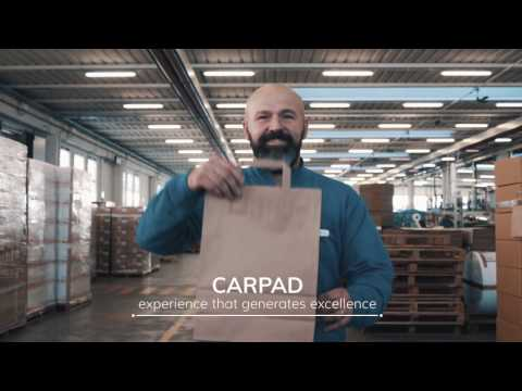 Carpad production paper shopping bag made in italy