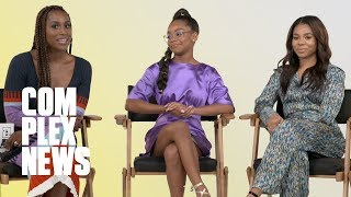 Download Issa Rae, Regina Hall, and Marsai Martin From 'Little' Play Rap Trivia Video
