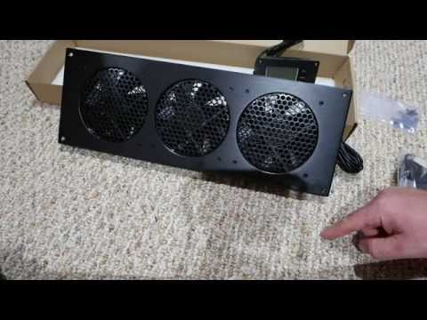 airplate t9 cabinet fan system unboxing