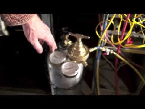How to pressure test the A/C unit.  Part 1