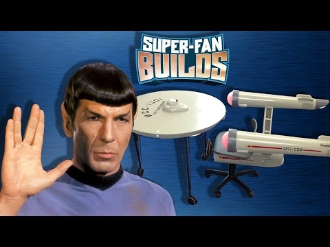Star Trek Enterprise Home Office - SUPER FAN BUILDS