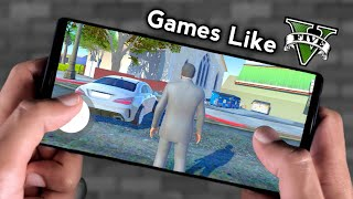 Top 10 Android Games Like GTA 5 2019 | [Download Link]