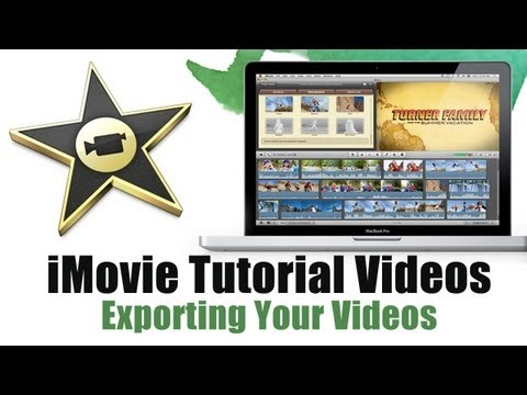 How to Export video in iMovie 11 - iMovie Tutorial Videos