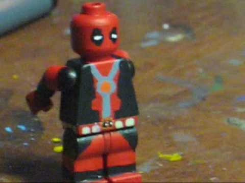 How to make DEADPOOL in LEGO