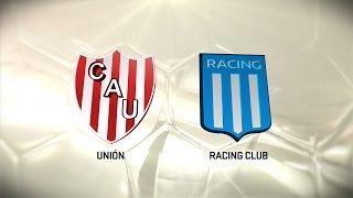Unión vs. Racing. Fecha 14. Torneo de Primera División 2016/2017. FPT