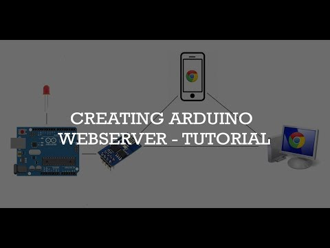 Creating Arduino Web server and controlling things via WiFi - Step by Step Tutorial