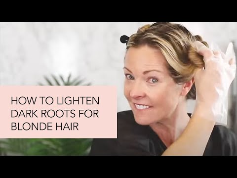 How To: Lighten Dark Roots For Blonde Hair With ion Color Kits!
