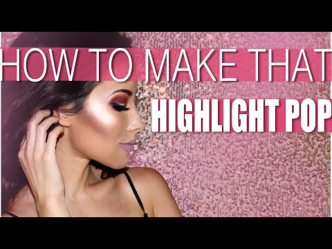 HOW TO MAKE THAT HIGHLIGHTER POP WITH THIS ONE EASY TRICK!   LadyCode Tutorial
