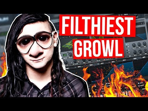 FILTHIEST SERUM GROWL TUTORIAL (Skrillex / Getter / Virtual Riot)