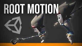 Unity Root Motion - in 6 easy Steps | Unity 2018.1 and Blender 2.79 | Tutorial