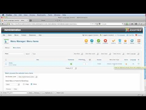 EN0015 Joomla 1.6 - Multi-Language Websites