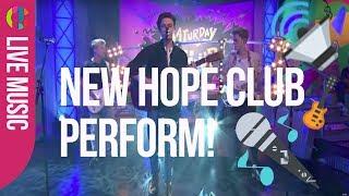 New Hope Club - Water | LIVE on Saturday Mash Up | CBBC