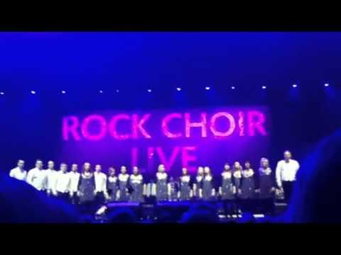 Rock choir O2 arena