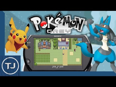 Pokemon Grey PSP Homebrew Game! (DOWNLOAD) 2017!