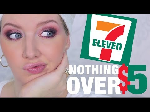 Cheap Makeup Review | 7 Eleven Makeup