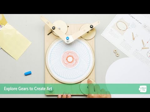 Tinker Crate Geometric Drawing Machine Teaser - STEM Projects for Kids 3-16