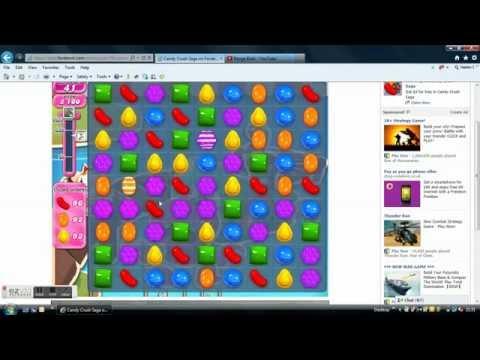 Candy Crush saga level 140 cheat