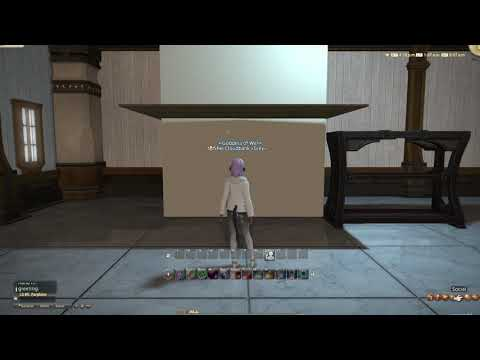 FFXIV Floating Ground Items with nothing but Riveria Wall Shelf +