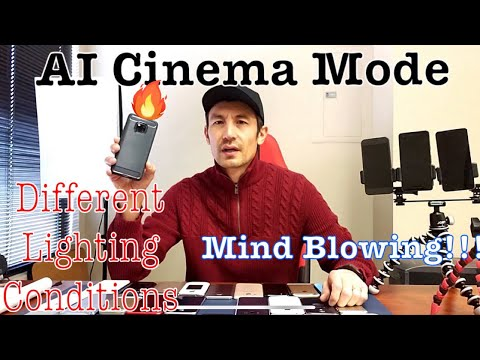 Huawei Mate 20 Pro: AI Video Cinematic Camera Mode: How to & Examples -Different Lighting Conditions