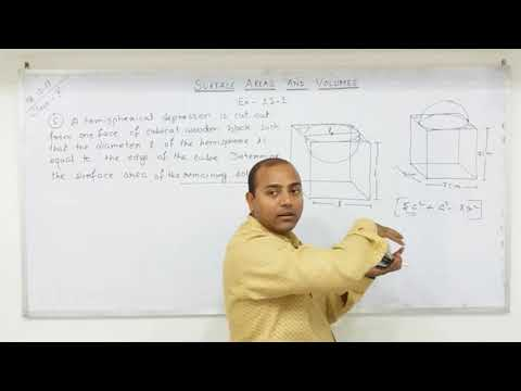 CLASS 10 Surface Areas and Volumes  (Part-3)