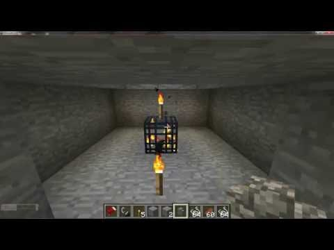 Incredibly Simple Cave Spider XP Farm in Minecraft - MCinstructabuilds