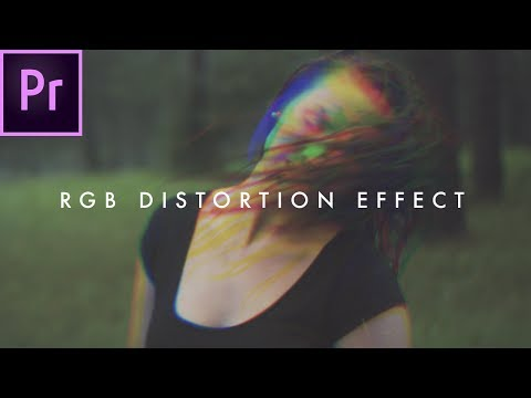 How To Create an RGB Glitch Effect (Distortion) | Premiere CC